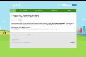 401K Número de teléfono del servicio de atención al cliente