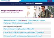 Assurancewireless.Com Servicio al cliente