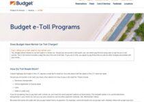 Budget Rent A Car Peajes Servicio al cliente