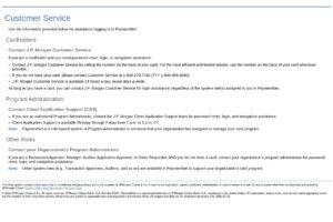 Número de servicio al cliente de Jpmorgan Chase Ebt