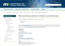 Número de servicio al cliente de Minnesotacare