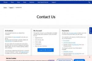 Número de servicio al cliente de Us-Cellular 1800