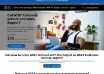 Número de teléfono de Internet del servicio de atención al cliente de At & T