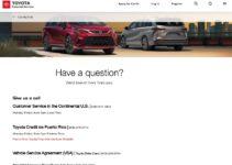 Número de teléfono del servicio de atención al cliente de Toyota Motor Credit