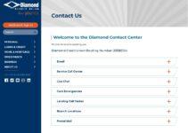 Servicio al cliente de Diamond Credit Union