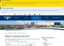 Servicio al cliente de Fort Worth Water