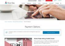Servicio al cliente de Nicor Gas Pagar la factura