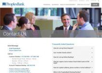 Servicio al cliente de Peoples Bank las 24 horas