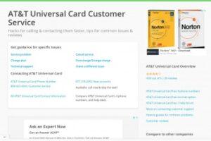 Servicio al cliente de Universalcard.Com