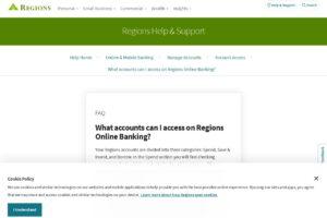 Servicio al cliente de la banca en línea de Regions Bank