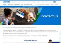 Servicio al cliente de la oficina corporativa de Aaron