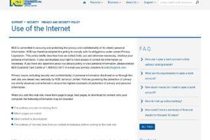 Servicio al cliente en línea de Ncb