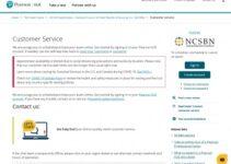 Servicio de atención al cliente de Pearson Vue Nclex