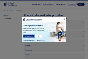 Servicio de atención al cliente de Uhc para proveedores